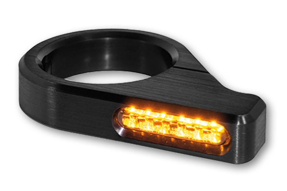 LED Blinker ZC-Line Gabel Blinker CLASSIC 41mm (till 39mm) black