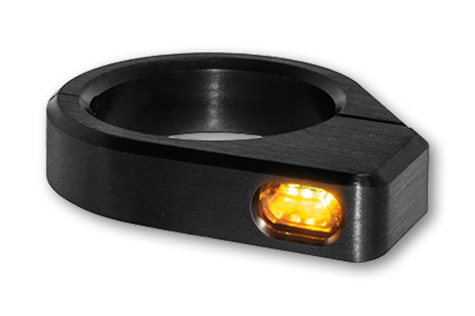LED Blinker ZC-Line Gabel Blinker MICRO 41mm (till 39mm) black